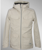 Bench Takeoff Point Jacke Silver Cloud