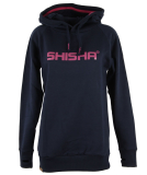 Shisha Classic Hooded Girls Pullover Navy Pink