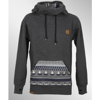 Shisha Buex Hooded Boys Pullover Anthracite