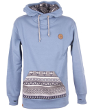 Shisha Buex Hooded Boys Pullover Teel Blue