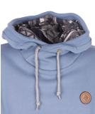 Shisha Buex Hooded Boys Pullover Teel Blue M