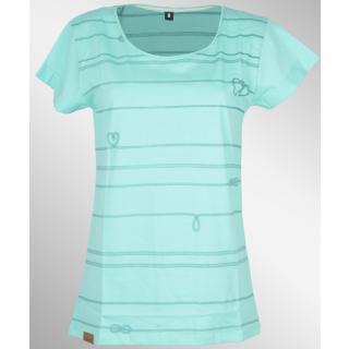 Shisha Teeshirt Riepen Girls Mint M