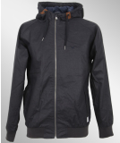 Cleptomanicx Satu Jacke All Season Heather Dark Navy