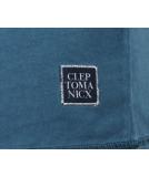 Cleptomanicx Indust Speacial Tee Petrol Blue S