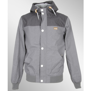 Iriedaily Segelprofi Jacket grey mel. S