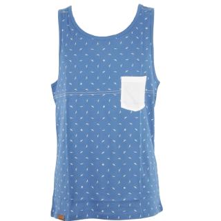 Shisha Tanktop Flünk Uni Summer Blue L