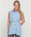 Shisha Häävn Dress Bright Denim