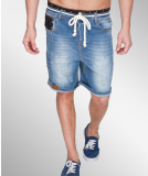 Shisha Jiepen Denim-Short Uni Bright Denim L