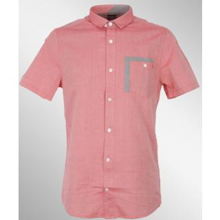 Volcom CHAMBRO OXFORD Hemd drip red S
