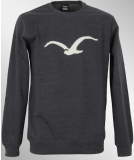 Cleptomanicx MÖWE Crewneck heather dark navy