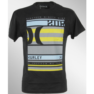 Hurley BLOCKED WARP SPORT T-Shirt black S