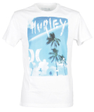 Hurley EQUATOR T-Shirt white