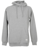 Cleptomanicx PARSONS Hooded heather gray