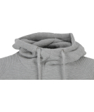 Cleptomanicx PARSONS Hooded heather gray XL