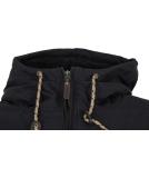 Iriedaily Dock36 Swing Jacket Herren Winterjacke Black schwarz