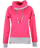 Shisha KROON Hooded Pullover bright rose L