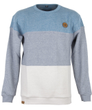 Shisha KLÖNDÖR Sweater Pullover blue striped S