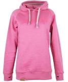 Shisha Hooded Classic Girls Pullover Pink Ash XL