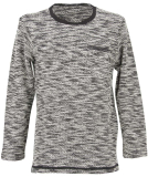 Shisha KRUPP Sweater Pullover black melange