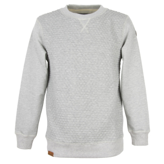 Shisha HINBEER Sweater Pullover ash melange