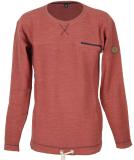 Shisha WEERK Sweater Pullover marsala red