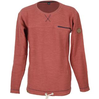 Shisha WEERK Sweater Pullover marsala red S