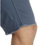 Volcom 2x4 TWILL Short grey blue 30
