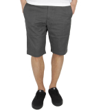 Volcom Frickin Modern Stretch Short Charcoal Heather