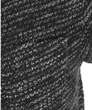 Shisha DROE Teeshirt black melange