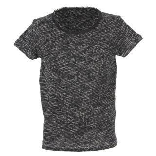 Shisha DROE Teeshirt black melange S