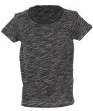 Shisha DROE Teeshirt black melange M