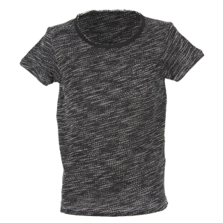 Shisha DROE Teeshirt black melange XL