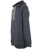 Bench Indigenous Zip Thru Hoody Total Eclipse Marl