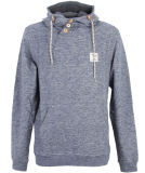 Iriedaily Chamisso Up Hoody Pullover Steel Mel S