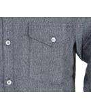 Iriedaily City Fella Shirt Hemd Greyblue
