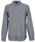 Iriedaily City Fella Shirt Hemd Greyblue M