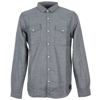 Iriedaily City Fella Shirt Hemd Greyblue XL