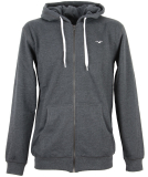 Cleptomanicx Ligull2 Hooded Zipper Heather Black