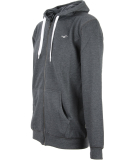 Cleptomanicx Ligull2 Hooded Zipper Heather Black S