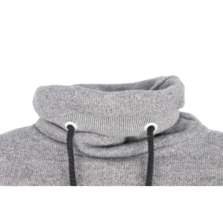 Shisha Padde Hooded Pullover Uni Black Wave Melange