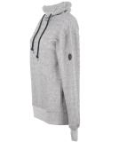Shisha Padde Hooded Pullover Uni Black Wave Melange M