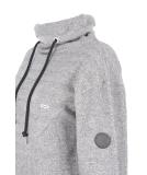 Shisha Padde Hooded Pullover Uni Black Wave Melange L