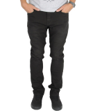 Volcom Solver Tapered Denim Jeans Hose Dusted Black