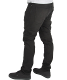 Volcom Solver Tapered Denim Jeans Hose Dusted Black W32