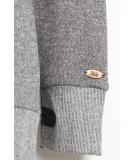 Shisha Felli Longhooded Pullover Black Wave Melange XL