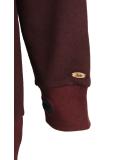 Shisha Felli Longhooded Pullover Ruby Red Melange
