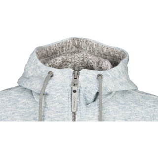 Ragwear Stephan Organic Zipper Jacke Light Blue Melange