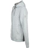 Ragwear Stephan Organic Zipper Jacke Light Blue Melange S