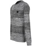 Iriedaily Vari Block Knit Pullover Anthra Melange XL