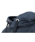 Shisha Goot Hooded Pullover Uni Denim Blue Melange